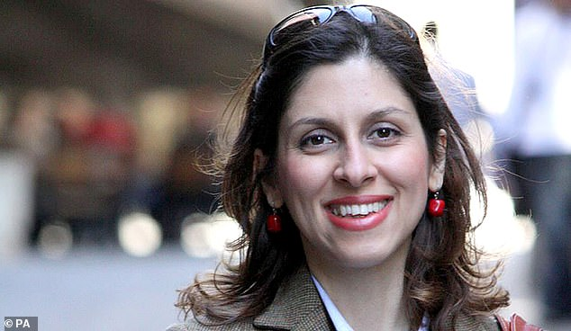 Mr Johnson said that the prime issue of discussion when meeting Mr Rouhani was the release of dual British-Iranian citizen Nazanin Zaghari-Ratcliffe, pictured above, who has been detained in the Islamic Republic since April 2016. Like Mr Ashoori, she was hit with espionage charges