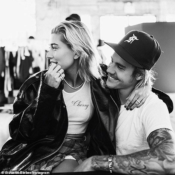 So love: Après le début de leur relation, Justin est maintenant officiellement marié à Hailey.