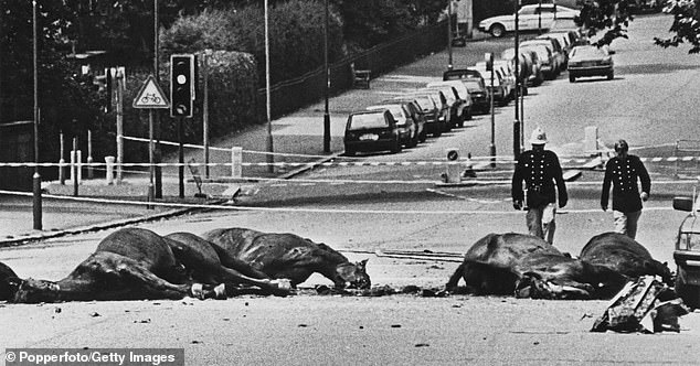 The Hyde Park bombing in 1982 was responsible for the deaths of five British soldiers and seven horses