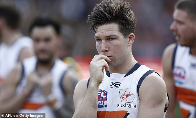 Toby Greene's team lost by 89 points in the deciding match against the Richmond Tigers