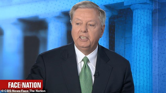 Senator Lindsey Graham said Democrats should vote on opening an impeachment inquiry instead of hiding behind Nancy Pelosi