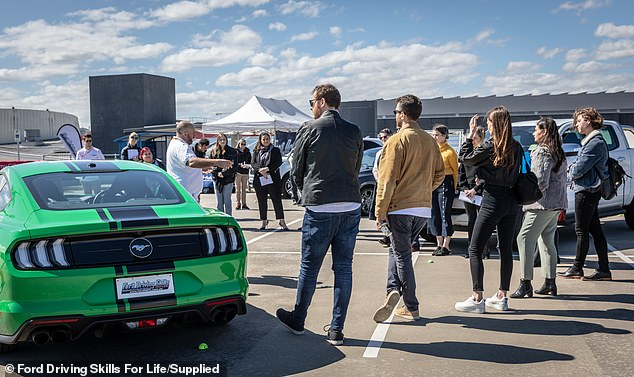 Ford's free program targeted at young drivers was recently launched in Melbourne