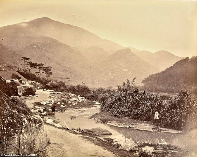 A rural idyll beside a brook in Happy Valley.In early 1840, the British Army set a military camp in the area. However, the camp was later closed due to the increasing number of soldiers succumbing to malaria