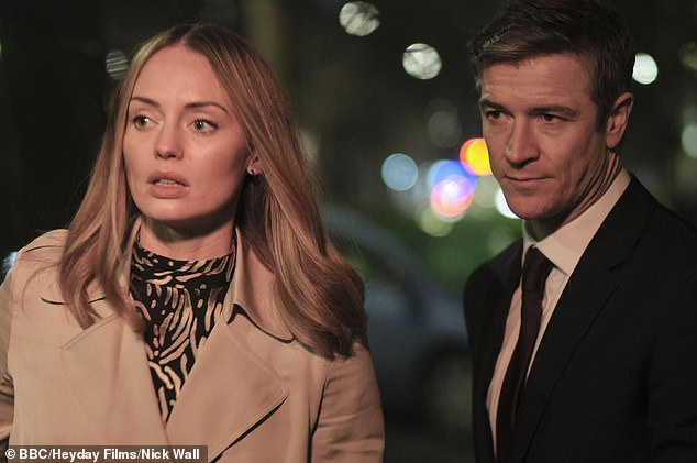 Human rights lawyer Charlie Hall, played by Barry Ward, worked with Miss Roberts before her death