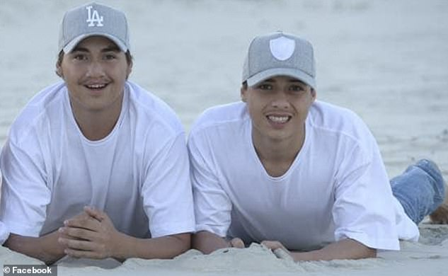 Maaka Hakiwai (right), 17, was killed and his 'best friend' brother Nate (left), 18, required multiple emergency surgeries after the pair were ambushed while walking home