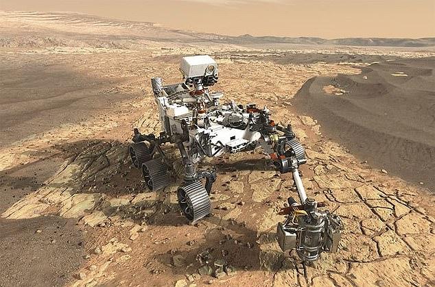 Le scientifique en chef de la NASA, Jim Green, a déclaré que si le Rover Mars 2020 (photo) trouvait des preuves de la vie sur la planète rouge, il serait 'révolutionnaire' et les humains pourraient ne pas être préparés aux résultats.