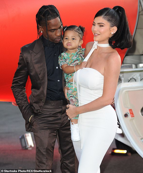 Last seen: The couple were last seen publicly at the premiere of Scott's Netflix documentary, Travis Scott: Look Mom I Can Fly, alongside their daughter Stormi on August 27