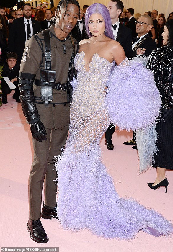 Moving on: Proving that they'd moved on from the drama, the couple got matching tattoos of Stormi's name in April. The couple then attended the Met Gala in May 2019