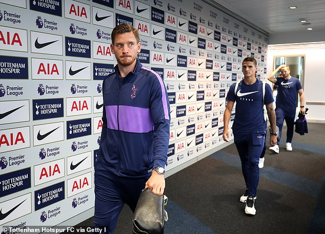 The post Eriksen responded to alleged Vertonghen had picked up this black eye in a bust-up