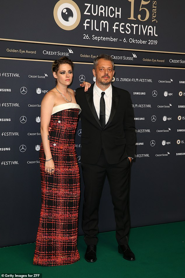 Promotions: Kristen joined director Benedict Andrews at the event