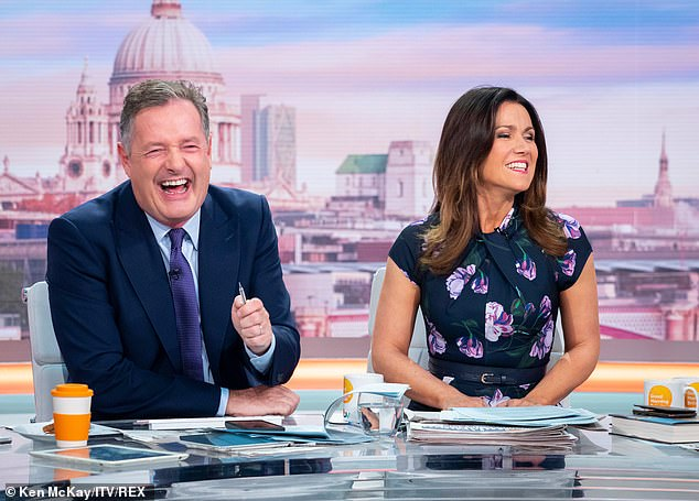 Susanna also said that she turned up for the National Reality TV awards after cooking her boys steak pie and vegetables for the evening. (Susanna on Good Morning Britain on October 2)