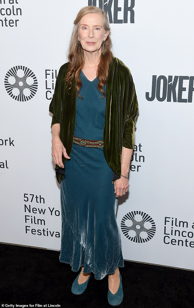 Vision in velvet:Also in attendance were some of the film's other respected supporting players, including Six Feet Under's Frances Conroy