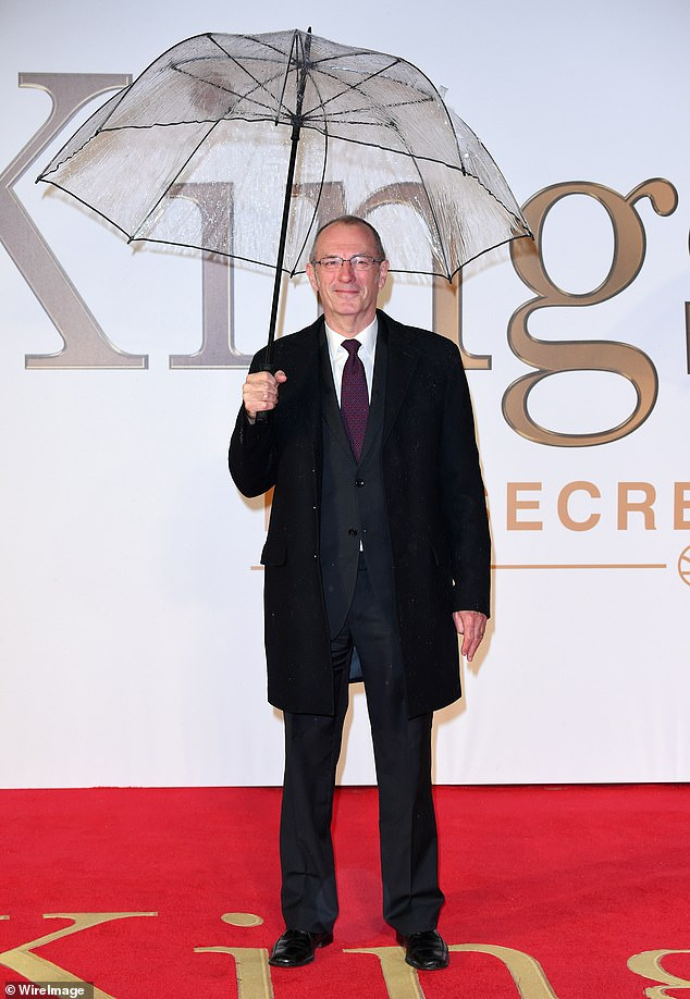 Creative: Gibbons was snapped at the January 2015 premiere ofKingsman: The Secret Service in London