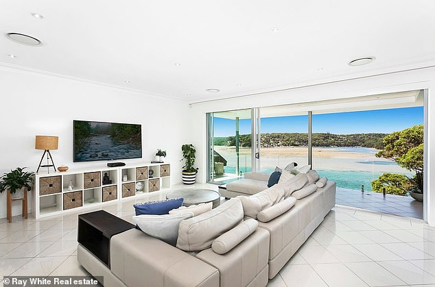 This is the second time the spin-bowler has tried to offload the Port Hacking home in Sydney's Sutherland Shire, after a prospective buyer changed their mind