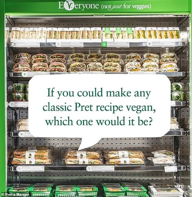 The products are set to launch in the coming weeks, with the chain asking customers what they would like to see (pictured)
