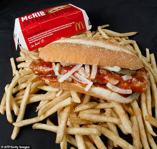 McDonald's announced their elusive McRib sandwich (pictured) will be returning to the menu in a new, limited time comeback