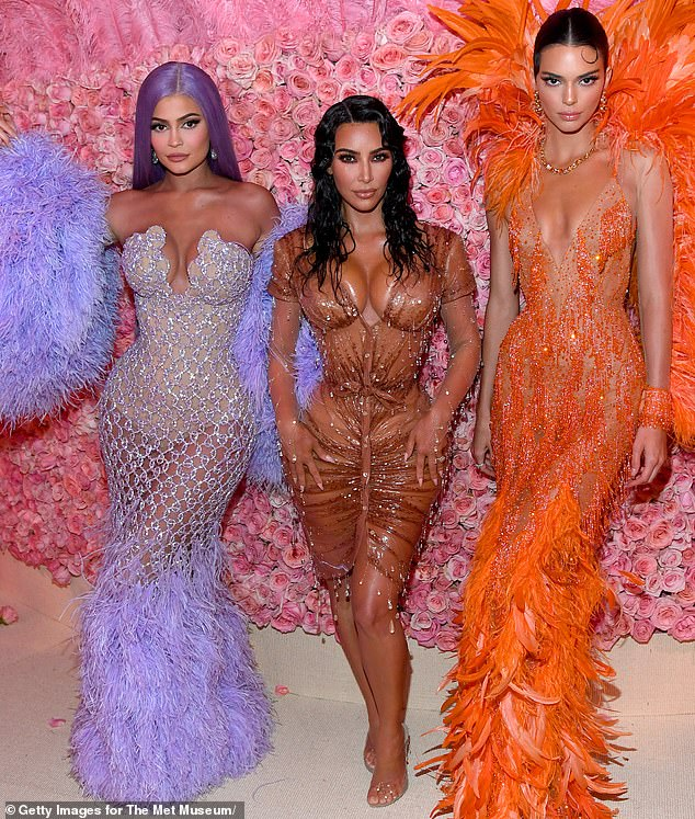 For sale:The Kardashian family is launching Kardashian Kloset on Friday morning. It is a 'luxury resale e-commerce platform that lists pre-owned items from the Kardashian-Jenner's wardrobes,' according to a statement from their publicity firm; seen in May
