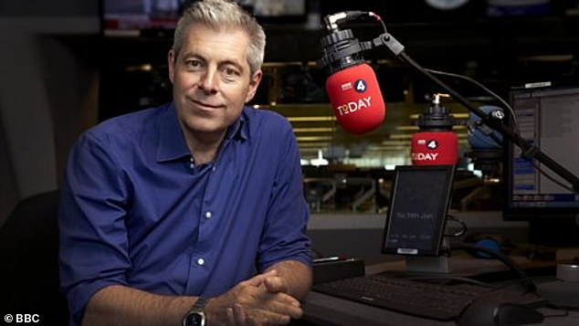 BBC Radio 4 Today presenter Justin Webb, 58 said: 'You are a white guy and Old Etonian - its not really 2020 is it?'