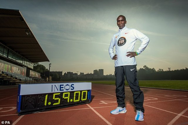 , Why Austria's Vienna Was Picked for Eliud Kipchoge's INEOS 1:59 Challenge