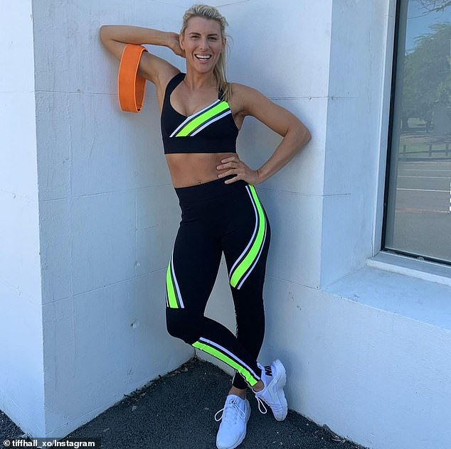 Despite the fact Tiffiny could only manage five minutes of exercise at a time when she first started working out after giving birth, she soon built this up to 20 minutes a day