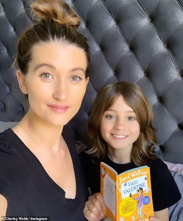 'Guilt':And although the Manchester native loves her work, she admitted that it doesn't leave her immune from struggling with 'working mum guilt' when she has to leave her boys with their nanny