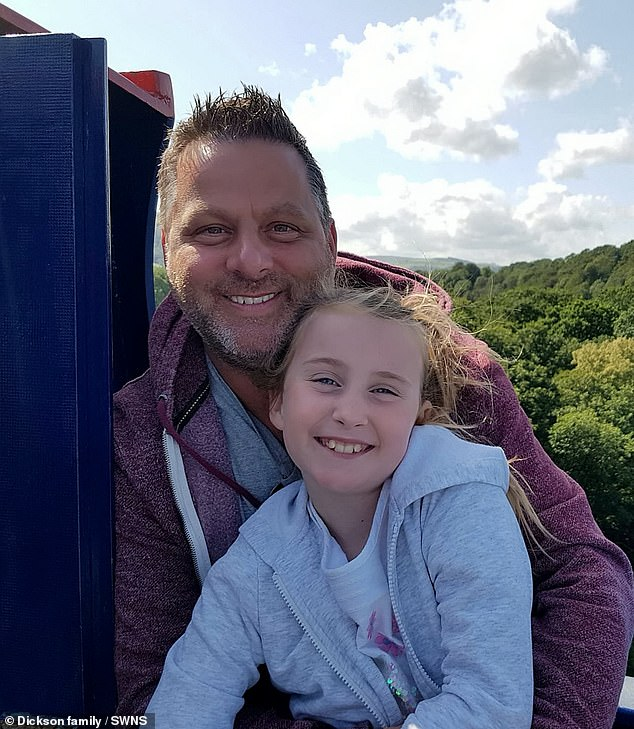 Chris was diagnosed with bladder cancer six years ago and underwent several rounds of chemotherapy - but kept getting new tumours, prompting him to have the operation