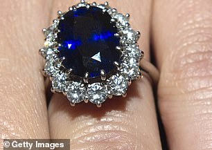 Kate Middleton's engagement ring is similar to Alizee's in that it is also a sapphire and diamond jewel