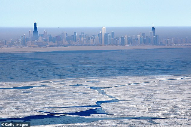 Near- to below-normal snowfall is expected across the northern Plains, with near- to above-normal totals in the central Plains. The Upper Midwest and Great Lakes should brace for cold air that may result in 'lake-effect snow events,' reports AccuWeather (file image)