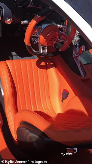 Spook: it featured beautiful orange leather interior which definitely gave off Halloween vibes