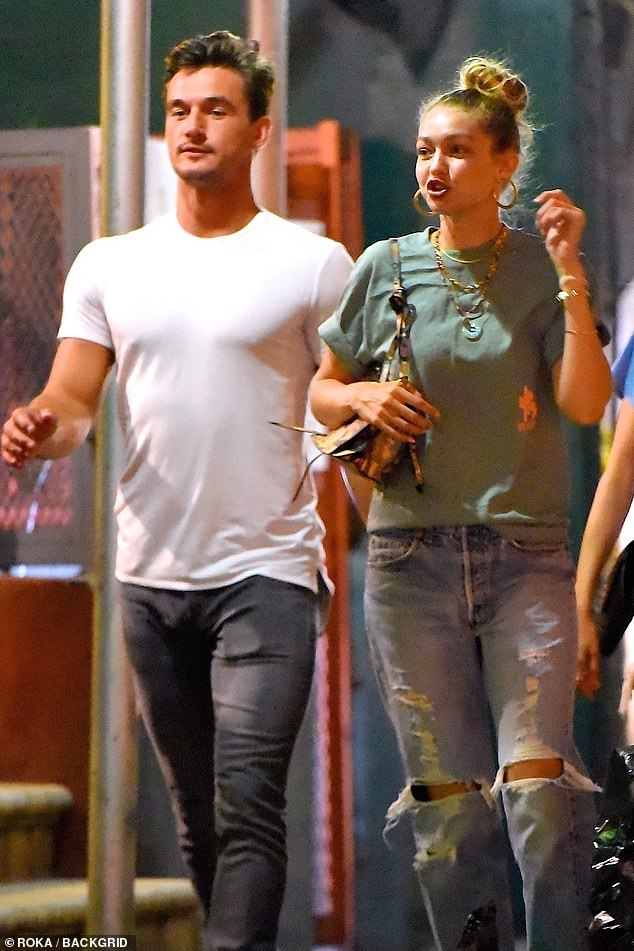 Brief affair: She and Cameron, 26, seen leaving Justin Theroux's bar, Le Turtle in Manhattan in August, were together for just two months