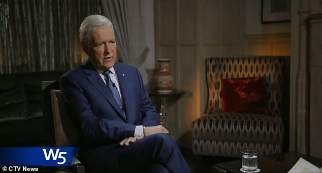 Trebek said he's lived 'a good life' but that he's 'chugging along until we either win or lose'