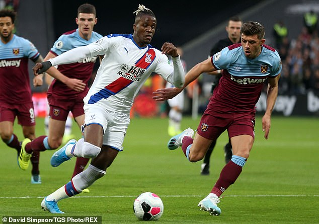 Zaha signed a five-year deal last year so will not be allowed to leave the Eagles at a cut price