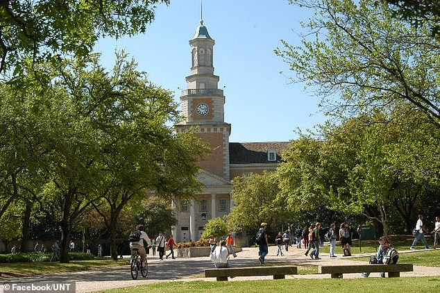 The University of North Texas where Trudeau has worked as a professor since 2005