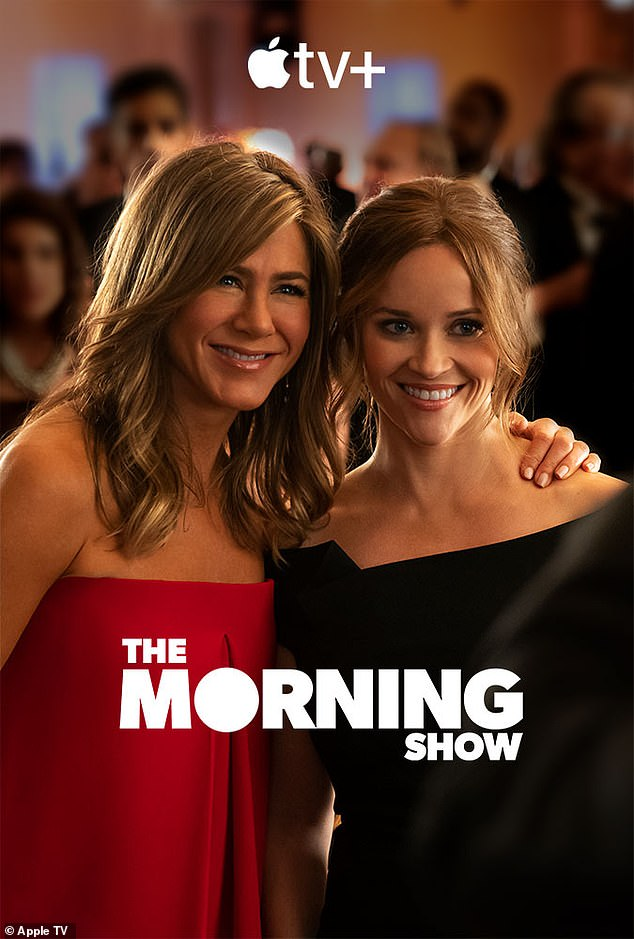 New show: The Morning Show is her new series that launches on the new Apple TV Plus streaming service on November 1, which she stars in alongside Reese Witherspoon