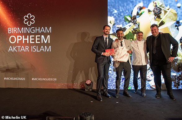 Opheem in Birmingham became the city's fifth Michelin starred restaurant