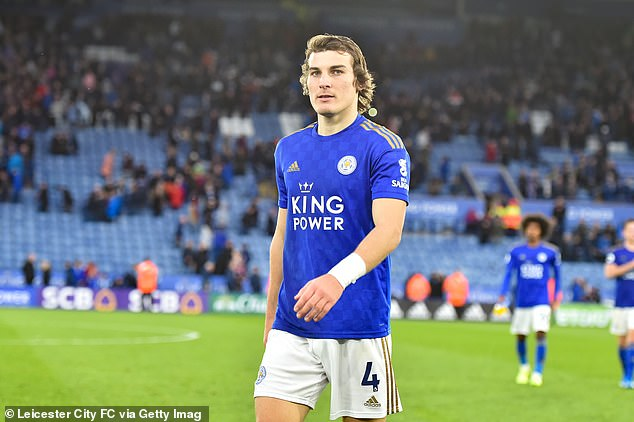 Caglar Soyuncu's calm nature on the ball is ideal for Brendan Rodgers' style of play