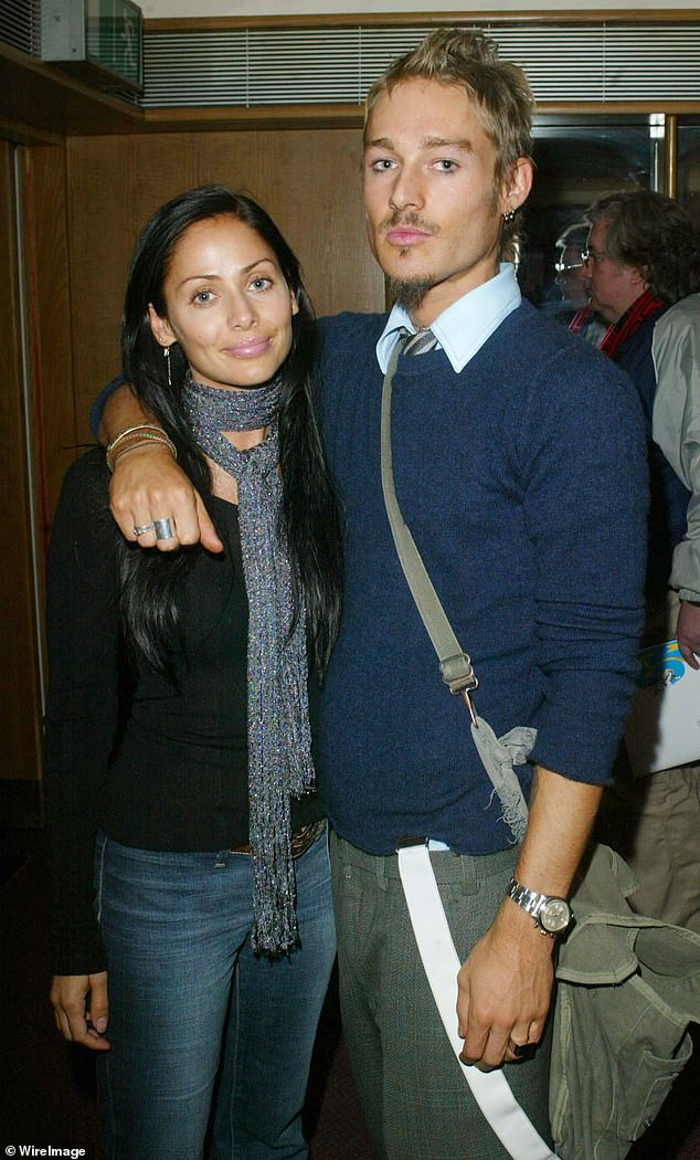 Former flames:Natalie was married to former Silverchair frontman Daniel Johns (right) for five years before they split in 2008