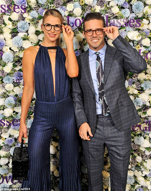 Date night: Vogue Williams and Spencer Matthews proved they were still one of the most down-to-earth couples in showbiz when they attended the Spectacle Wearer Of The Year 2019 awards in London on Tuesday evening
