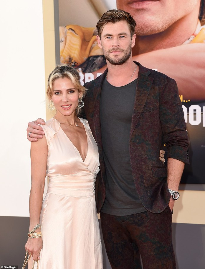 Almost there! Chris Hemsworth and Elsa Pataky are adding the finishing touches to their $20million Byron Bay mega-mansion
