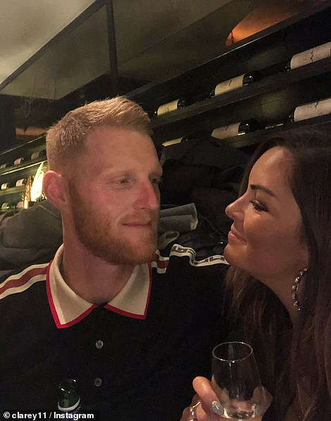 Clare Stokes posted all about her birthday weekend planned by her husband. In a reference to the furore today she said 'not gonna let some idiots ruin what's been an incredible 30th birthday