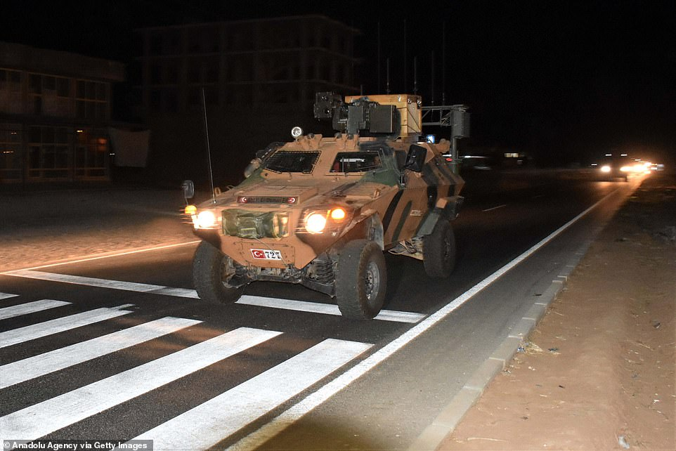 Turkish Army's armored military vehicles and heavy duty machines are being dispatched to the Syrian border ahead of Turkey's planned operation