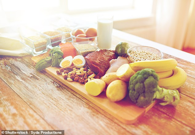 Switching to a healthy diet may pull young adults from the depths of depression in less than a month (stock)