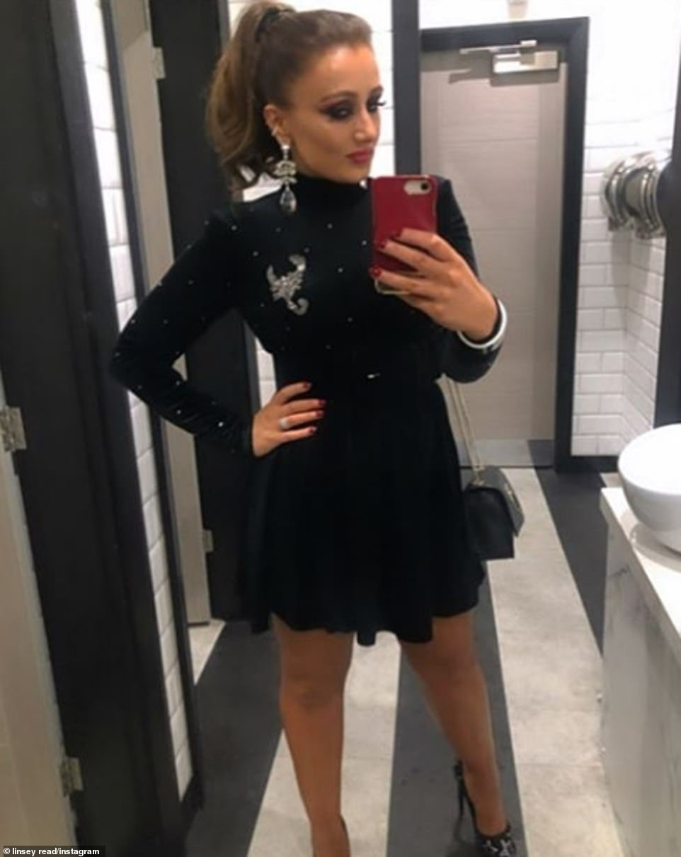 BFFs: Also making the list are Liverpool stylists Linsey Read, who is a luxury stylist and personal shopper for Cricket Fashion - one of Coleen's favourite stores