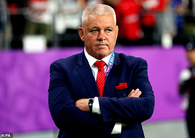 Warren Gatland insisted he's not thinking any further than next match after Wales qualified
