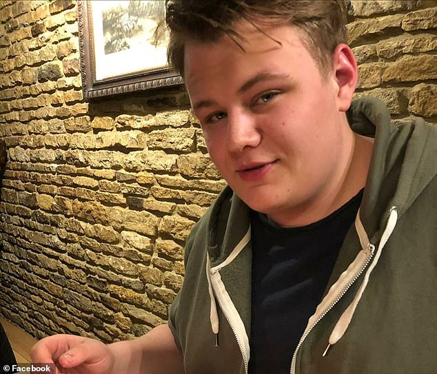 Harry Dunn (pictured), 19, was killed n a car crash in Northamptonshire allegedly caused by the wife of an American diplomat