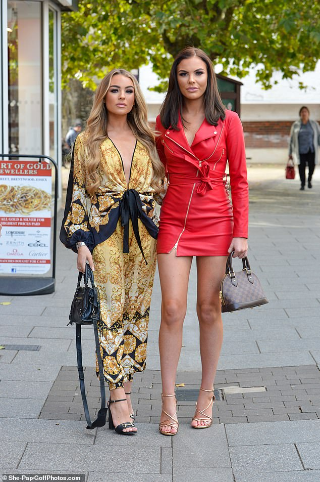 Friendship: Ella and Kelsey have stuck together amid their bitter fall-out with former BFF Chloe Brockett
