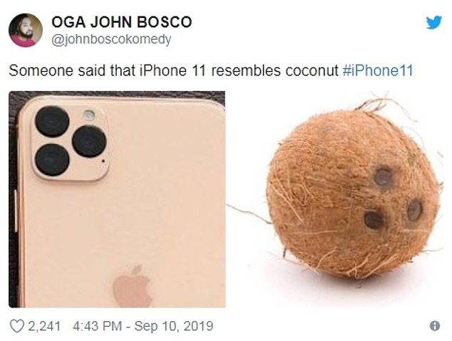 This optical lens could have saved Apple from a lot of criticism with the release of its iPhone 11, as the camera was ridiculed by fans on social media for looking similar to a coconut with its three protruding lenses