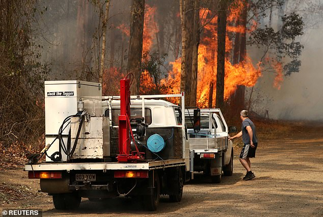 RFS Commissioner Fitzsimmons said in the absence of any other obvious cause the blaze was being treated as suspicious