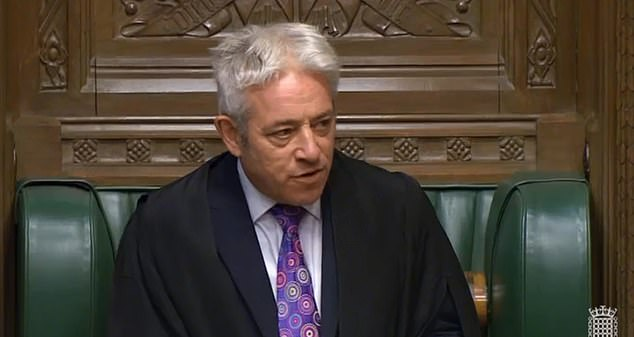 A spokeswoman for John Bercow (pictured in the Commons this week) refused to give any comment or explain the spending beyond what was put out by House officials