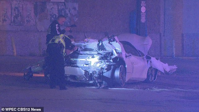 He is reported to have been seriously injured and rushed to hospital after the crash in Dallas